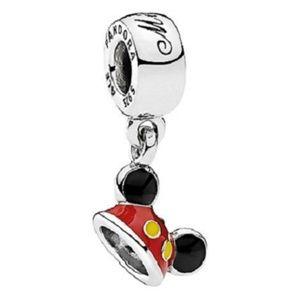 NEW Authentic Pandora Disney Mickey Ear Hat Charm